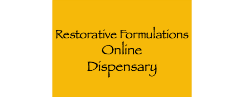 Restorative Formulations Online Dispensary